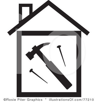 house restoration clipart - Clipground