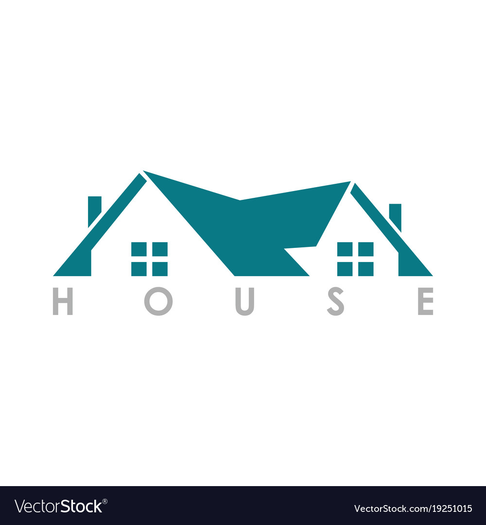 Home roof logo.
