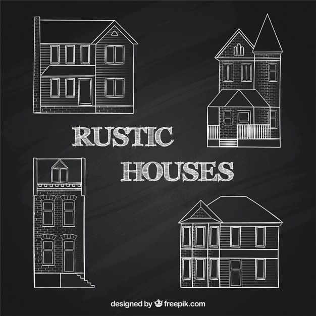 House Rustic Clipart.