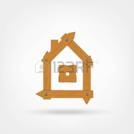 3,186 Rustic House Stock Vector Illustration And Royalty Free.