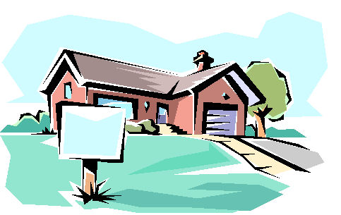 House For Sale Clip Art.