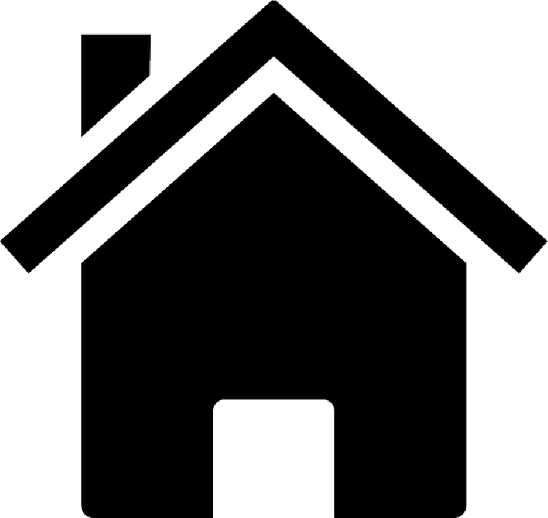 Silhouette clipart house, Silhouette house Transparent FREE.