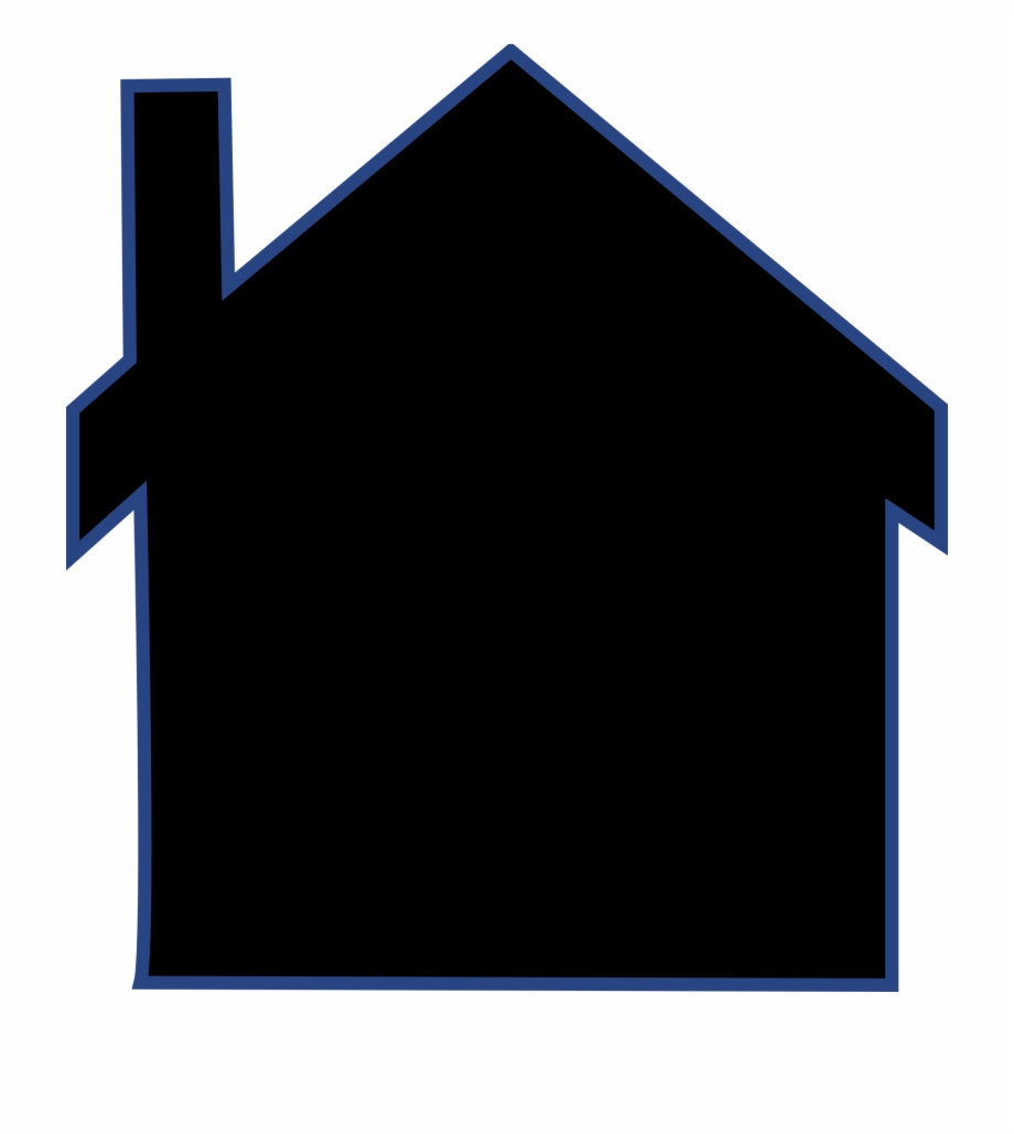 House Silhouette Png, Transparent Png Download For Free #1182446.