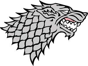 House Stark Logo Vector (.AI) Free Download.
