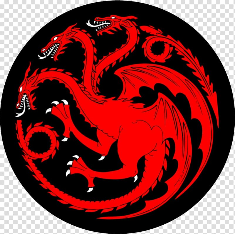 House of Targaryen logo, Eddard Stark Daenerys Targaryen.