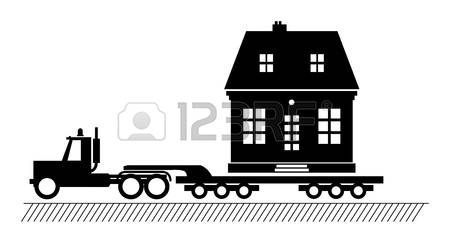 853 House Trailer Stock Vector Illustration And Royalty Free House.