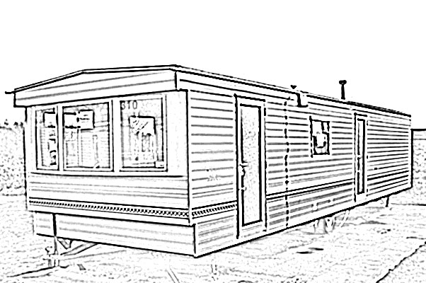 Clipart mobil home.
