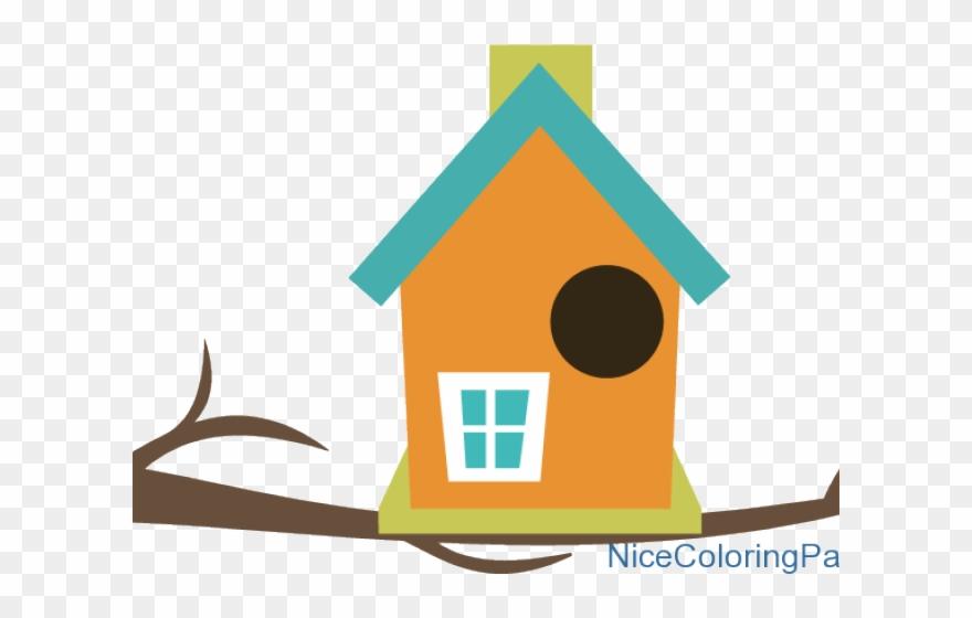 Bird House Clipart Animated Bird.
