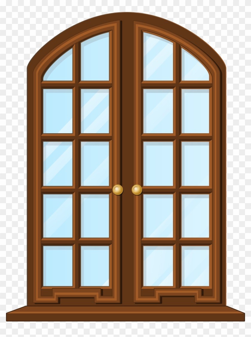 At Clipart House Window PNG Clip Art 2703.