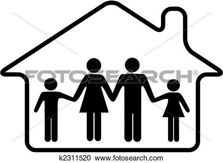 Family house Clipart Royalty Free. 10,441 family house clip art.