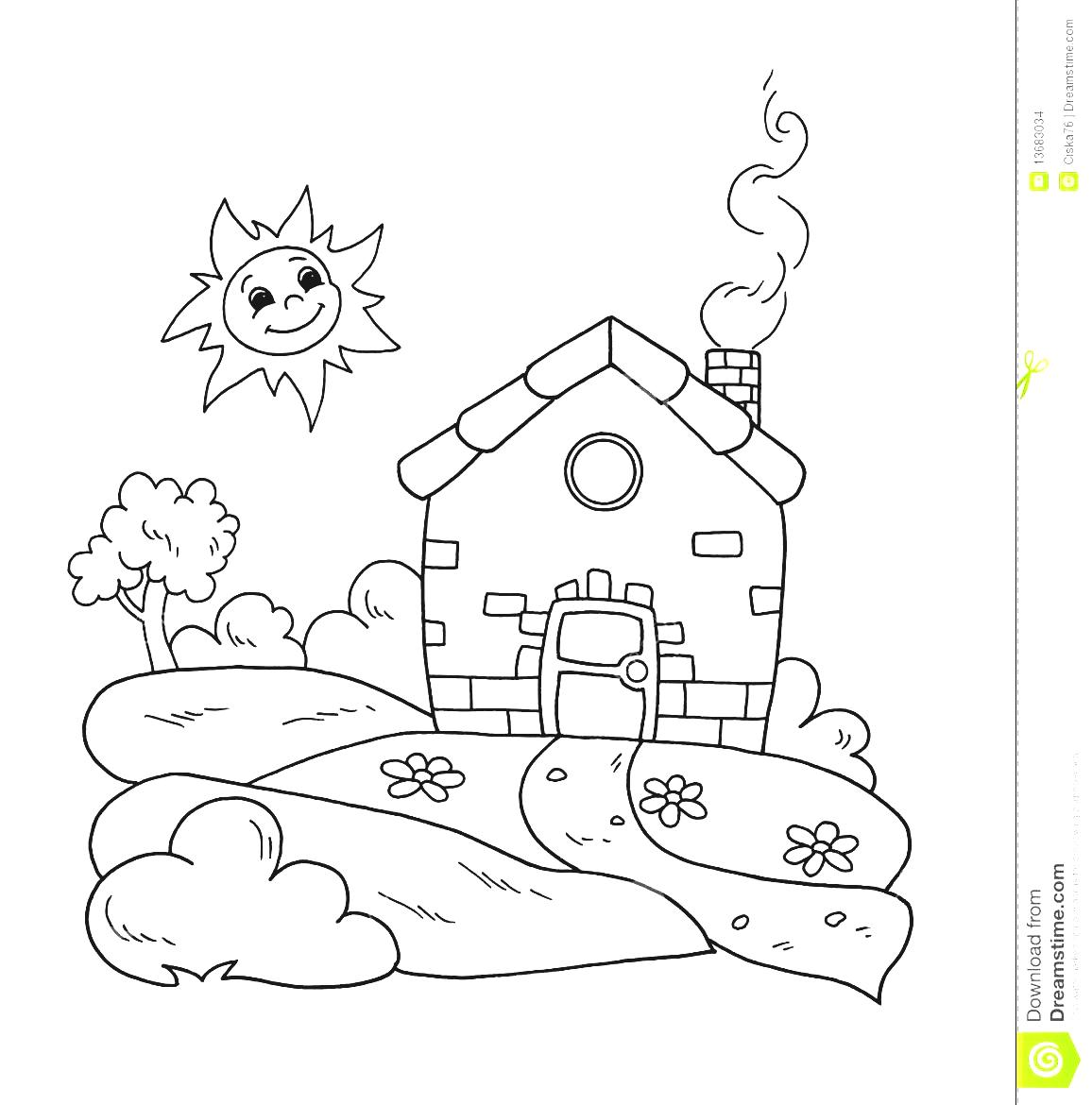 Black And White Sweet Home Gardening Clipart Stock Images Image.