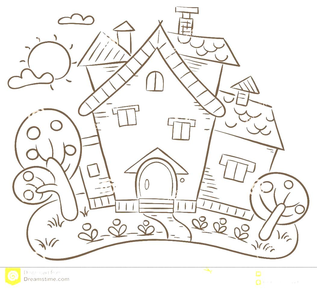 Gardening Countryside A Clipart With Garden White Stock Image And.