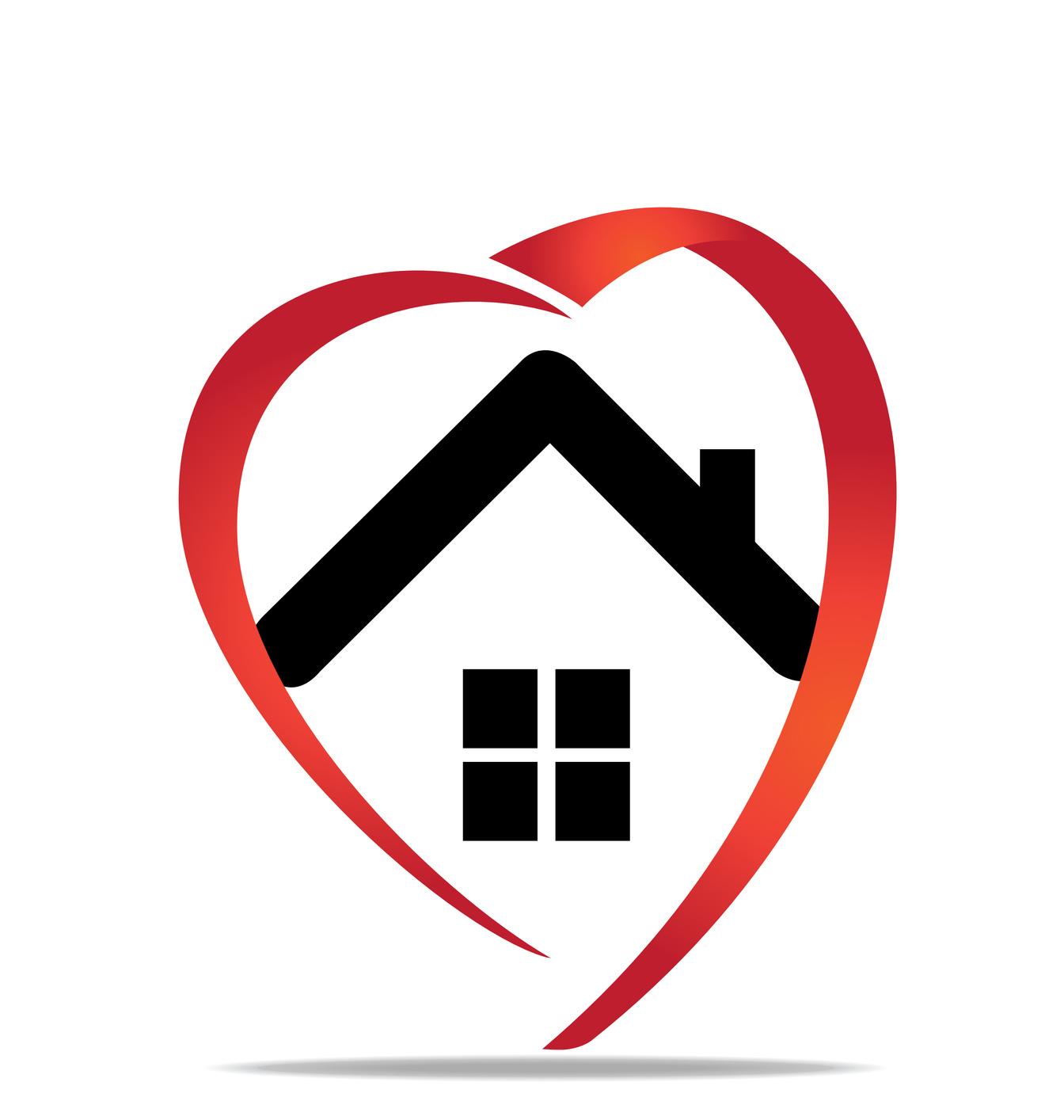 Similiar House With Heart Keywords.