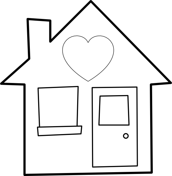 Heart Of The Home Clip Art at Clker.com.