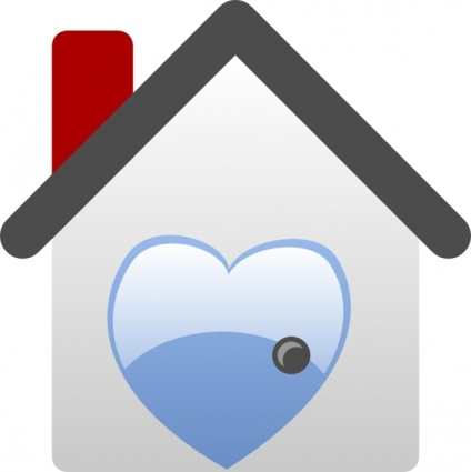 Home Is Where The Heart Is Clipart.