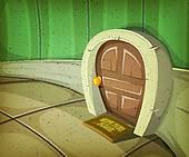 Mouse Hole Clip Art.