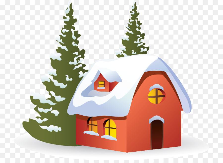 Snow Christmas Tree clipart.