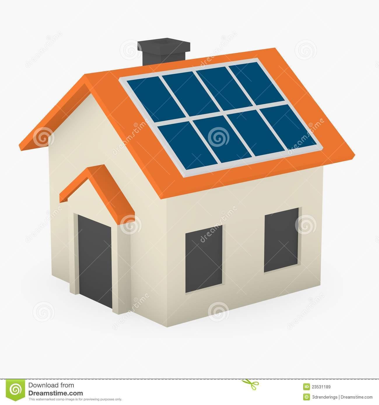 Solar panel house clipart 3 » Clipart Portal.