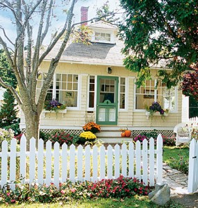 White Picket Fence. Amazing Best Images About I Want A White.