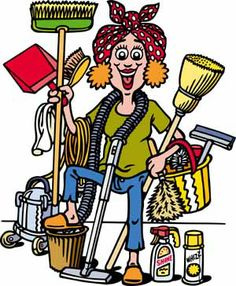 Housework Clipart.