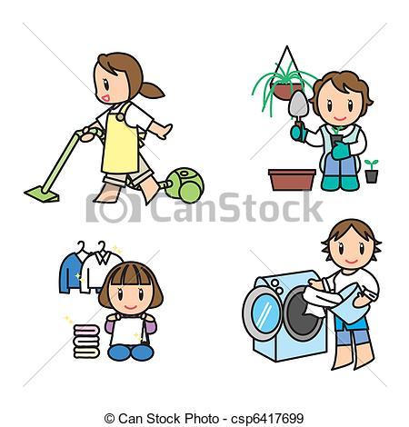 Housework Clipart Vector Graphics. 10,171 Housework EPS clip art.