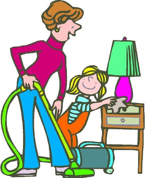 Housework Clipart.