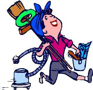 Housecleaning Clipart.