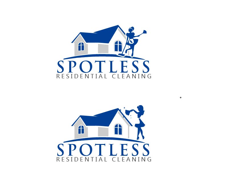 Elegant, Professional, House Cleaning Logo Design for.
