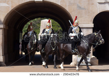 Cavalry Trooper Stock Images, Royalty.