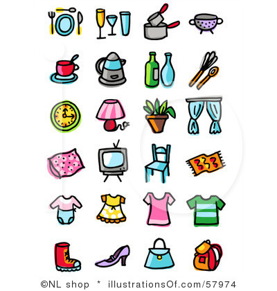 Household Clipart.