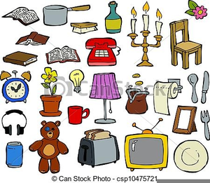 Free Clipart Household Items.