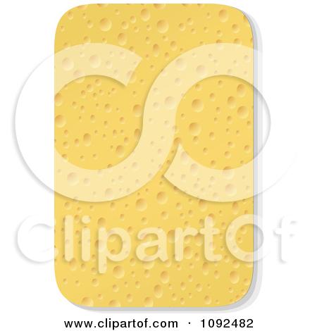 Kitchen Sponge Clipart Illustration by AtStockIllustration #11741.