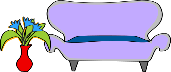 Free Couch Clipart, 1 page of Public Domain Clip Art.