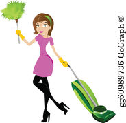 Housekeeping Clip Art.