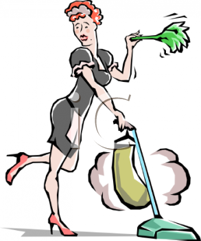 Housekeeping Clipart.