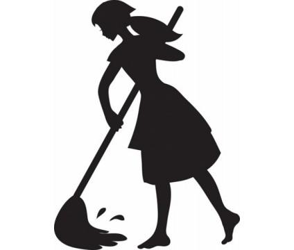 Housekeeper Clipart.