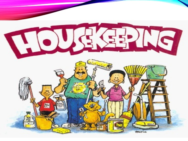 Housekeeping clipart 3.