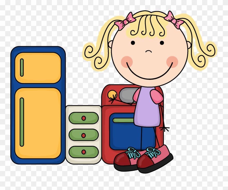 Kids Housekeeping Clipart.