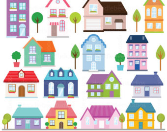 Houses clipart images 2 » Clipart Station.
