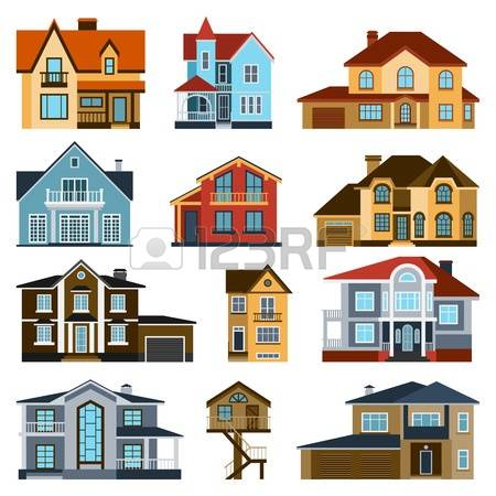 10,695 Modern Facade Stock Vector Illustration And Royalty Free.
