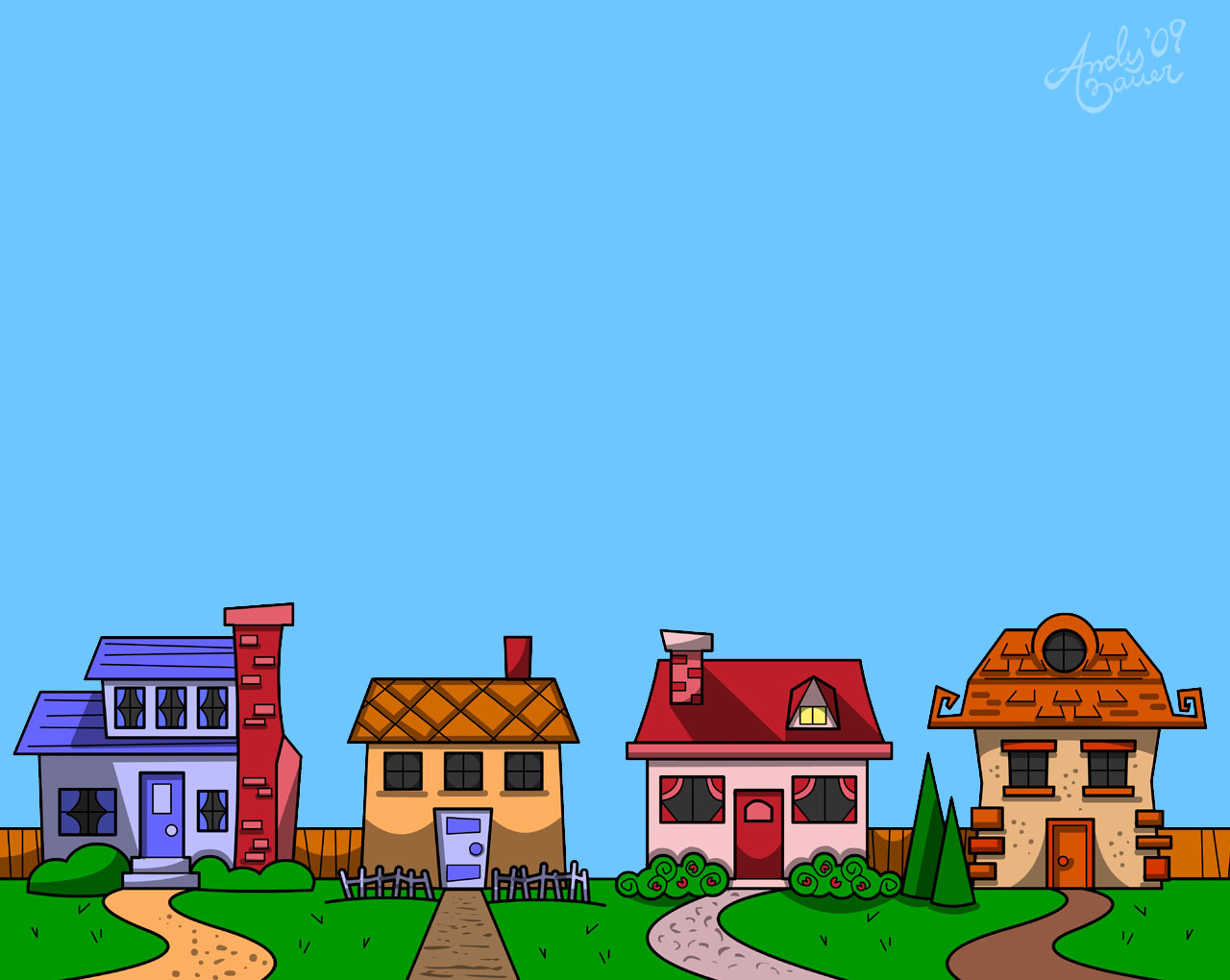 Free Row Of Houses Clipart, Download Free Clip Art, Free.