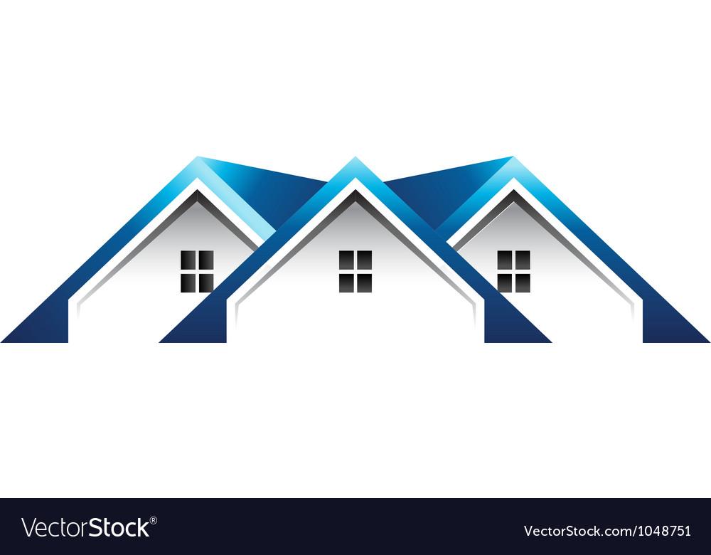 Roof houses logo.