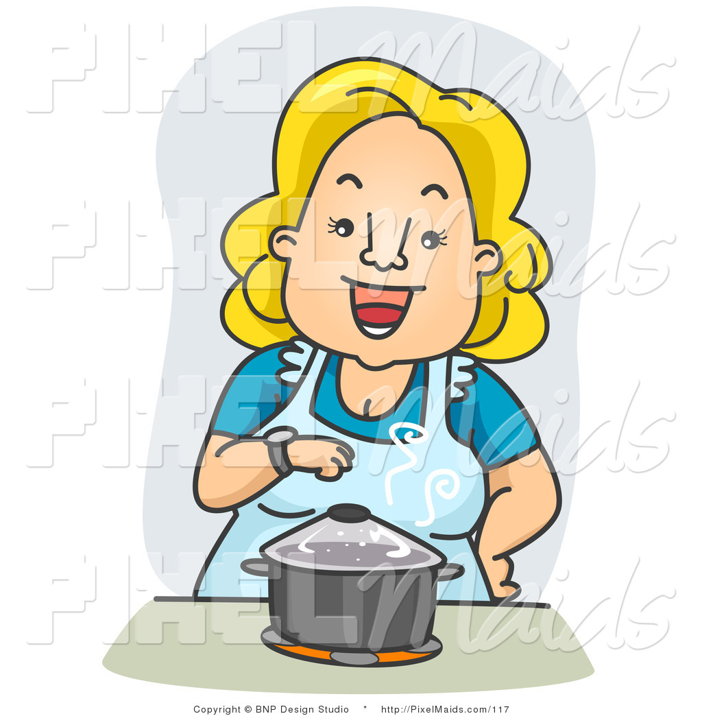 Housewife 20clipart.