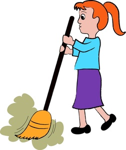 Free Clip Art Children Chores.