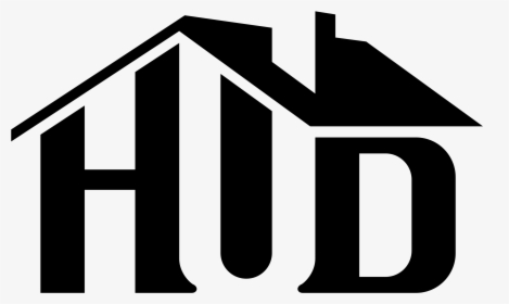 Hud Logo Black And White.