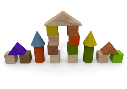 Building Blocks Free Clipart.
