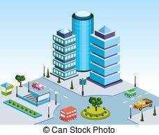 City block Stock Illustration Images. 7,118 City block.