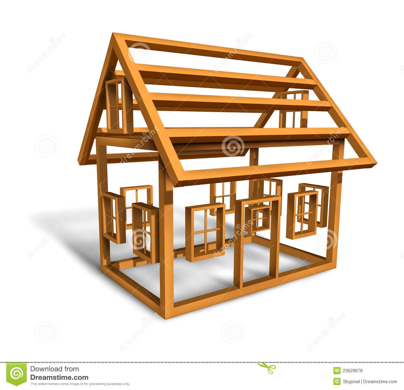 Home under construction clipart.