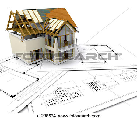 Stock Photography of Housing construction 1771061.