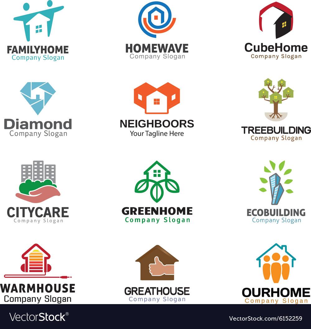 Housing Logos Compilation.